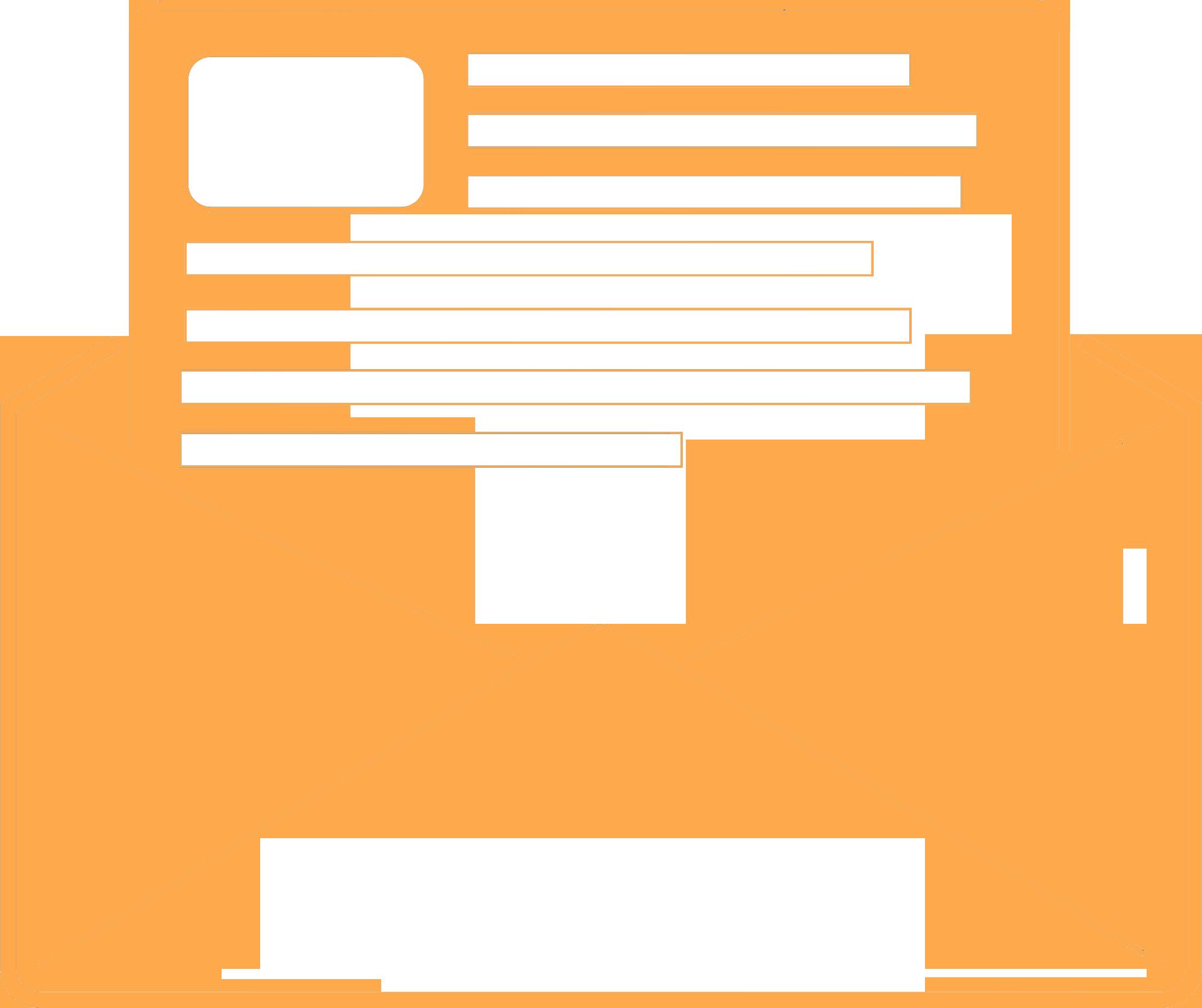 lettera contatti